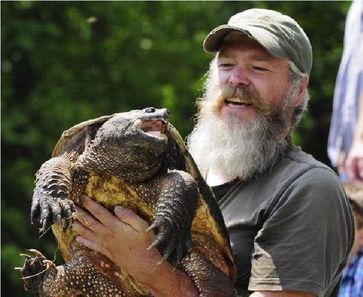 T Landberg bearded snapper