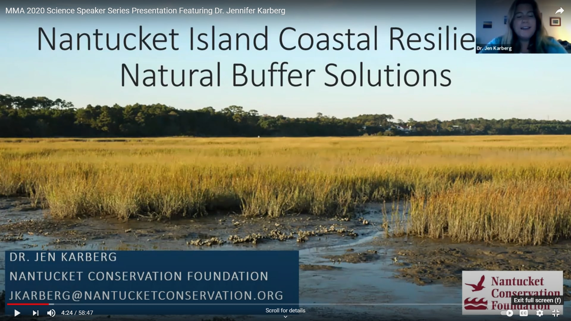 Coastal Resilience The Importance And Function Of Natural Buffers