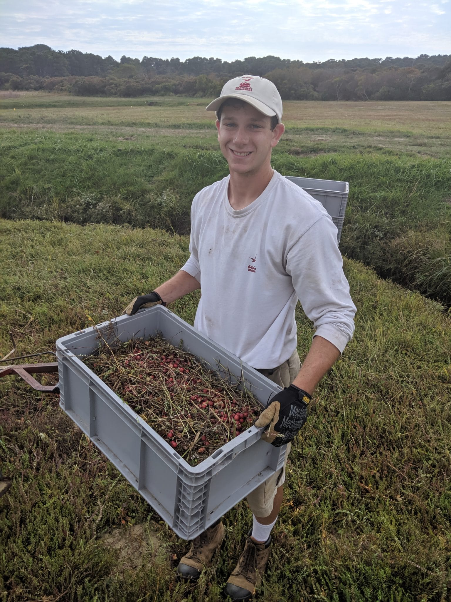 Nick Larrabee Dry Picking, NPF Milestone